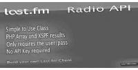 Last.fm laststream class api radio