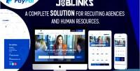 Links job complete script management job