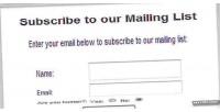 List mailing