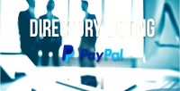 Listing directory support paypal with