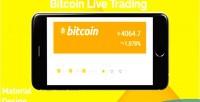 Live bitcoin trading