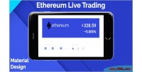 Live ethereum trading