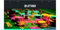 Live letsbid system management betting