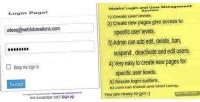 Login webful system management user