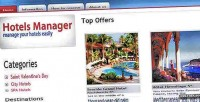 Management hotels platform reservation and