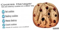 Manager cookies class