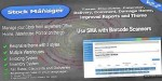 Stock manager advance invoice system inventory