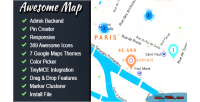 Map awesome fully map markers customizable