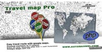 Map travel pro php
