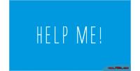 Me help photo script answers questions