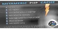 Metameric php cache