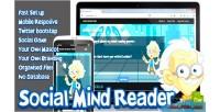 Mind social reader game