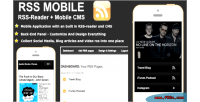 Mobile rss cms