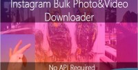 Multi instagram photo downloader video and