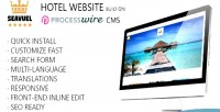 Multilingual hotel website with theme bootstrap cms multilingual