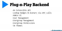 N plug play backend