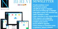 Newsletter berevi script marketing email