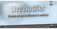 Notifier live with scheduler
