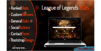 Of league legends stats