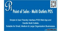 Of point sales pos outlets multi