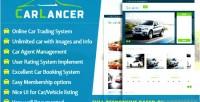 Online carlancer system trading car