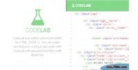 Online codelab coding playground
