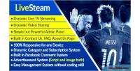 Online livestream video live & system management streaming