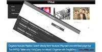 Organize ytmusic youtube videos