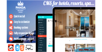Pandao resort cms for spa resort hotel