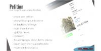 Petition php script