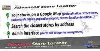 Php advanced store locator