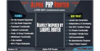 Php alpha router a mvc php standalone laravel architectural