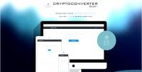 Php cryptoconverter script