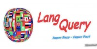 Langquery php multiple language param with class