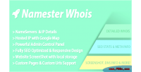 Php namester whois script
