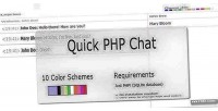 Php quick chat