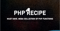 Php recipe php functions 45 collection
