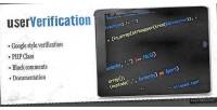 Php userverification class