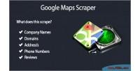Places google scraper script