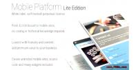 Platform mobile lite