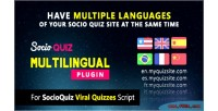 Plugin multilingual for script socioquiz quiz viral