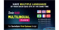 Plugin multilingual for script socioquiz quiz viral