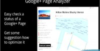Plus google page analyzer