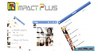 Plus impact chat style facebook