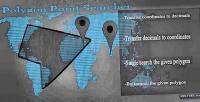 Point polygon searcher