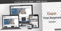 Portal coupon php script