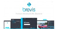 Premium brevis shortener url monetized