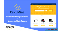 Profitability mining calculator system affiliate amazon