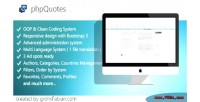 Quotes php cms