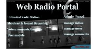 Radio web portal